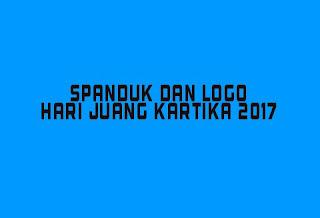 Spanduk dan logo hari juang kartika