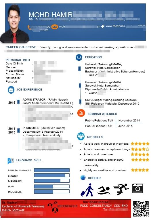 cara membuat resume 1 halaman template stylo dan terbaru 2016