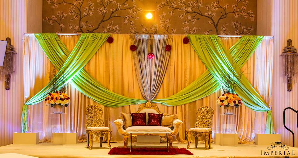 Reception Stage Decorations Wedding Stage Decoration Background