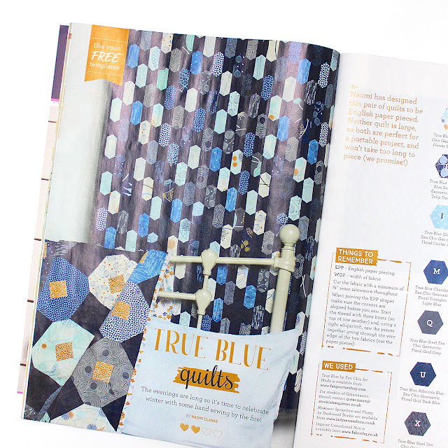 Quilt Now issue 43 featuring Zen Chic