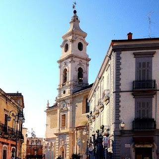 The cathedral of Santa Maria de Fovea in Foggia