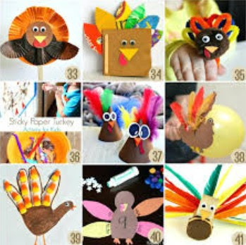 Special Thanksgiving Arts And Crafts For Kids