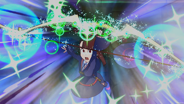 Little Witch Academia: The Magic of the Time and the Seven Wonders