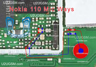 Dear Friends Today i will share with you how to Solve your nokia 110 mobile phone microphone print out problem solution. if your phone is water damage check this line. if you find any line is short re shoulder this line i hope solve your problem. thanks you.