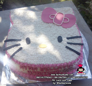 Kue Tart Ulang Tahun Hello Kitty Lucu