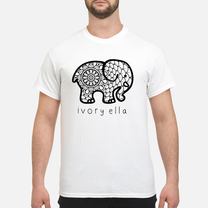 310183d9e Official ivory ella save the elephants shirt