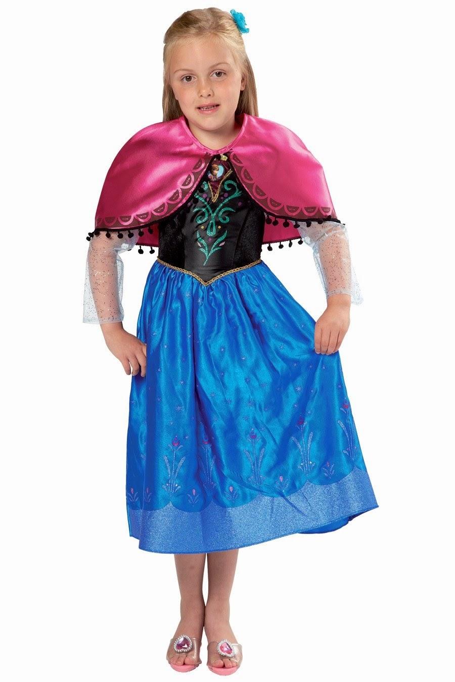 Frozen Luxury Anna Dress-Up