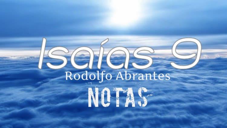Isaías 9 - Rodolfo Abrantes - Cifra melódica