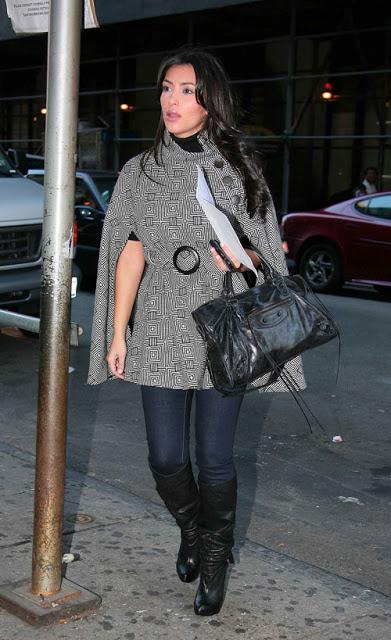 910a70b90a Kim Kardashian Fashion Balenciaga City Motorcycle Regular Hardware Black  Handbag Jessy Jade Bag Review