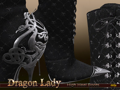 Dragon Lady Boots detailed