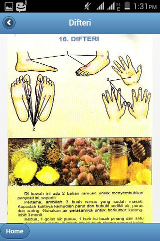 Titik Pijat Refleksi Untuk Mengobati Penyakit Difteri Beserta Ramuan Herbal