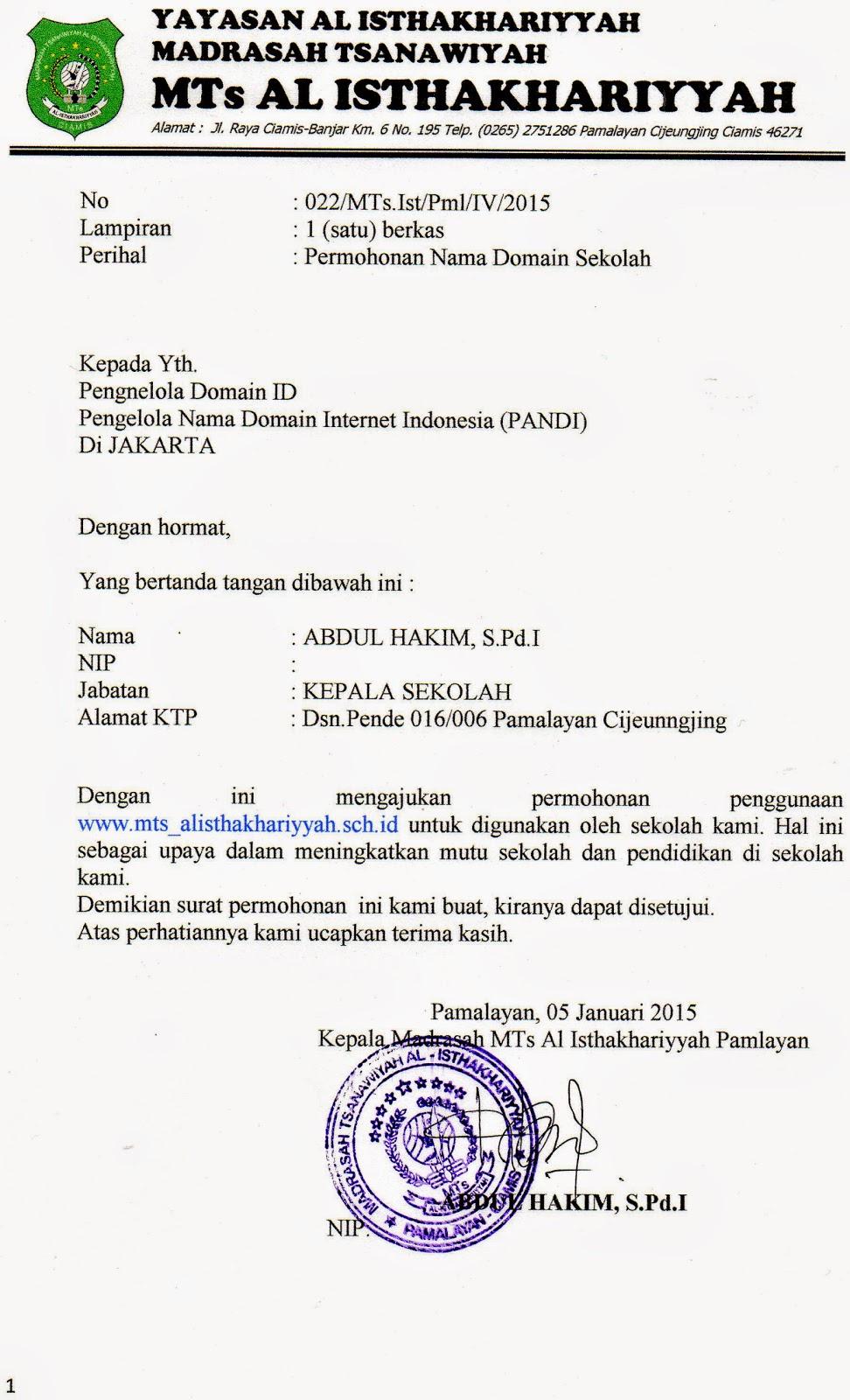 Contoh Surat Kuasa Materi Bahasa Indonesia Kelas Xi Contoh Rdw