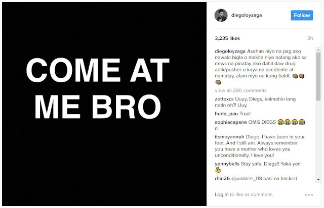 BREAKING: Diego Loyzaga Lambasted His Own Father Cesar Montano! 'Wag ka nalang sana mag satsat!'