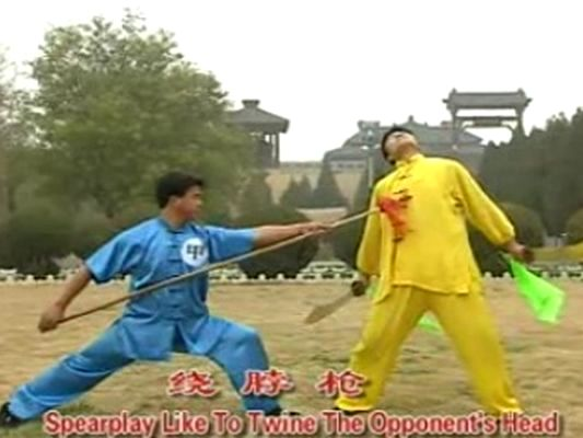 Daily Kung Fu: Double Broadswords vs Spear