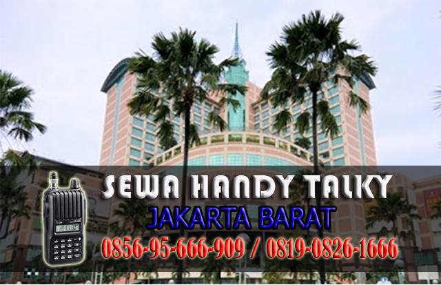 Pusat Sewa HT Area Kemanggisan Palmerah Jakarta Barat Rental Handy Talky