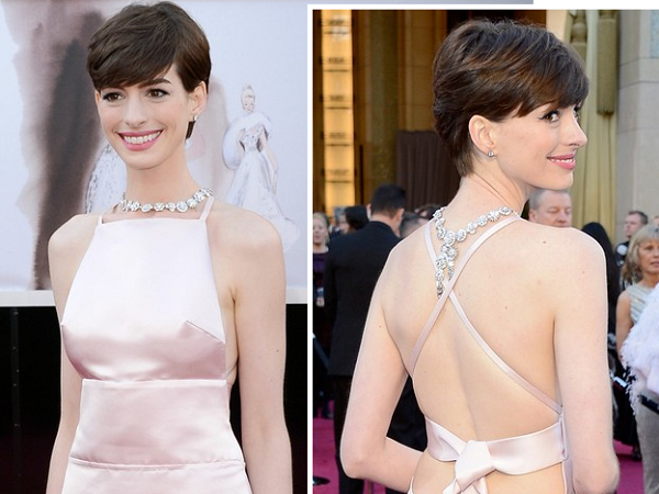 Óscares 2013 | Looks | Anne Hathaway