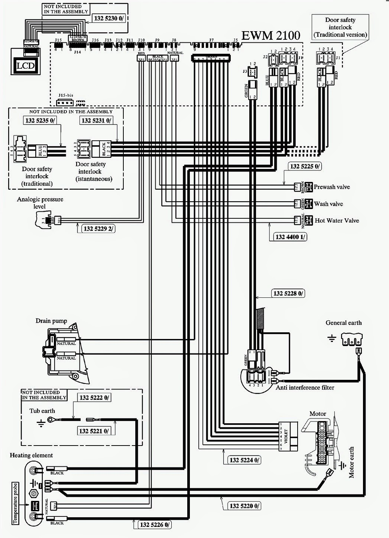 ELECTROLUX WASHING MACHINE EWFH12280 – EWM2100HEC Frontloader – TROUBLESHOOTING  DISASSEMBLY
