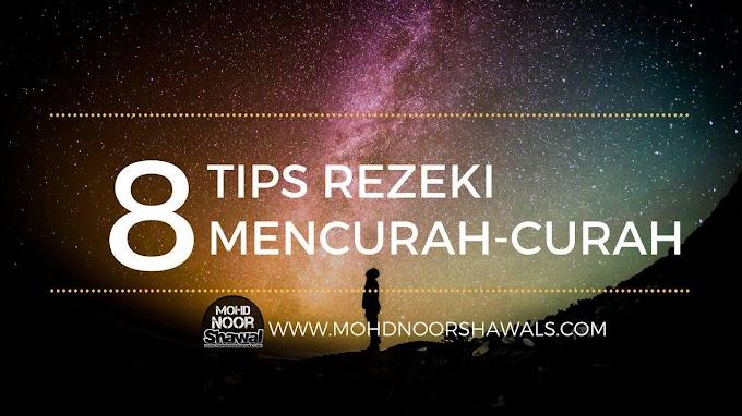 8 Tips Rezeki Mencurah-curah