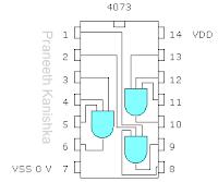 CD4073 internal