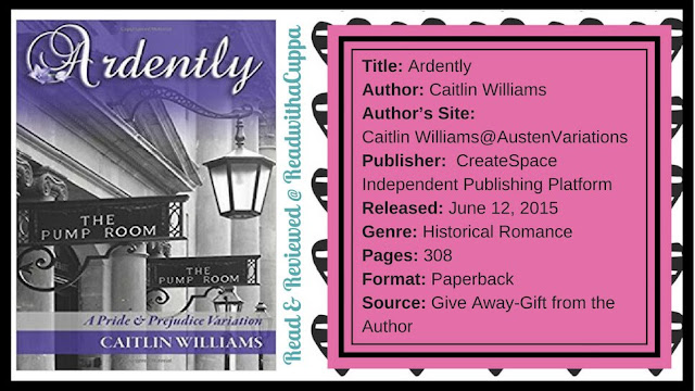 It's a question of military tactics. Book Review | Ardently by Caitlin Williams. www,readwithacuppa.com
