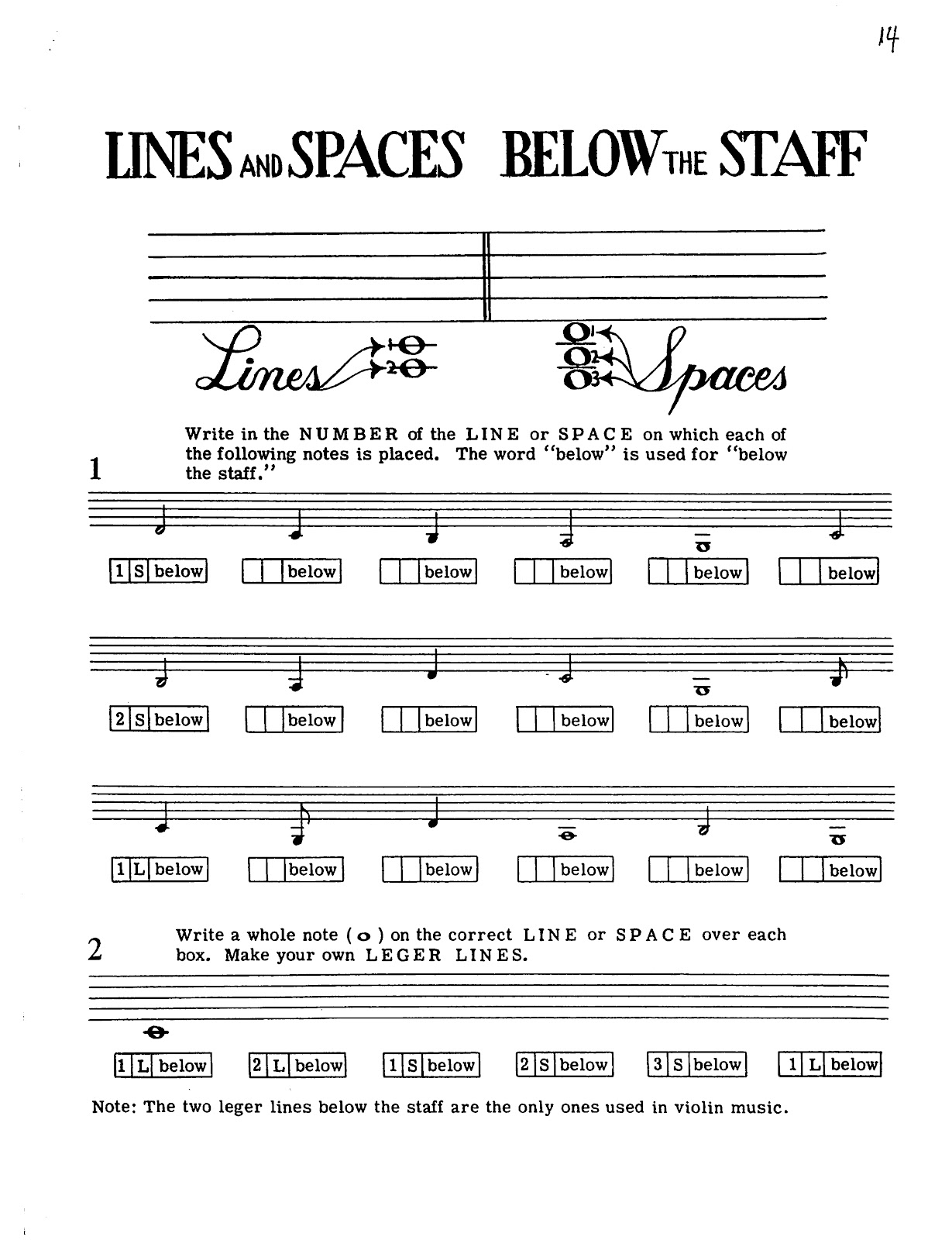 Miss Jacobson S Music Theory 4 Note Reading Lines And