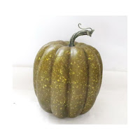 green foam pumpkin