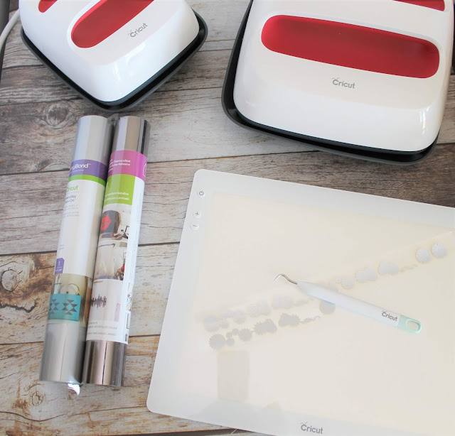 Cricut EasyPress 2, Brightpad and iron-on foil