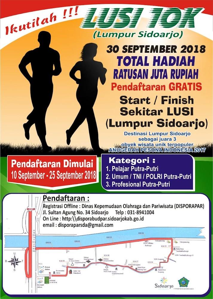 Lumpur Sidoarjo / Lusi 10K • 2018