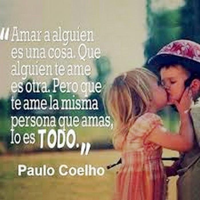 Frase De Paulo Coelho Sobre El Amor