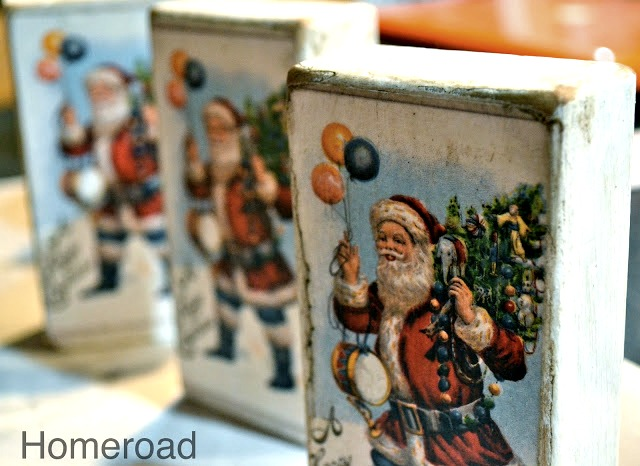 Christmas Postcard Blocks. Homeroad.net