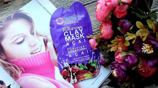 Freeman Feeling Beautiful Acai Facial Purifying Clay Mask Очищающая глиняная маска для лица с экстрактом ягоды асаи