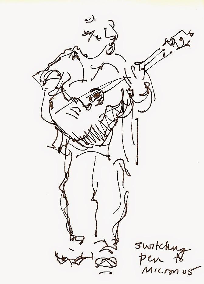 Sketchbook Wandering : Musical Sketching