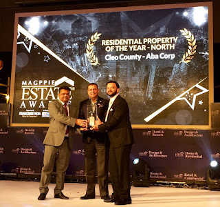 ABA Corp's Cleo County awarded as Best Residential Property in North India