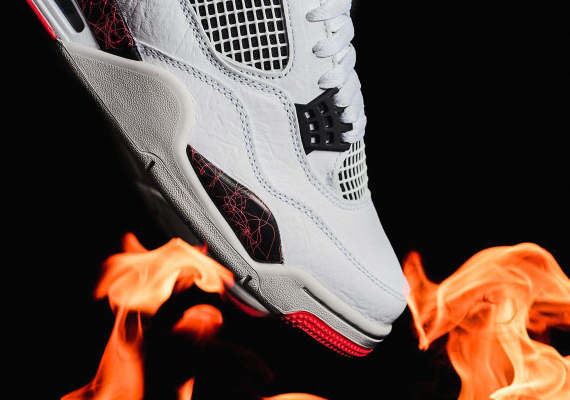 online store 6c587 5878c First Look  Nike Air Jordan 4 Retro -  Hot Lava