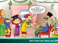 Bagipict Gambar Sambutan Hari Raya Aidilfitri Kartun