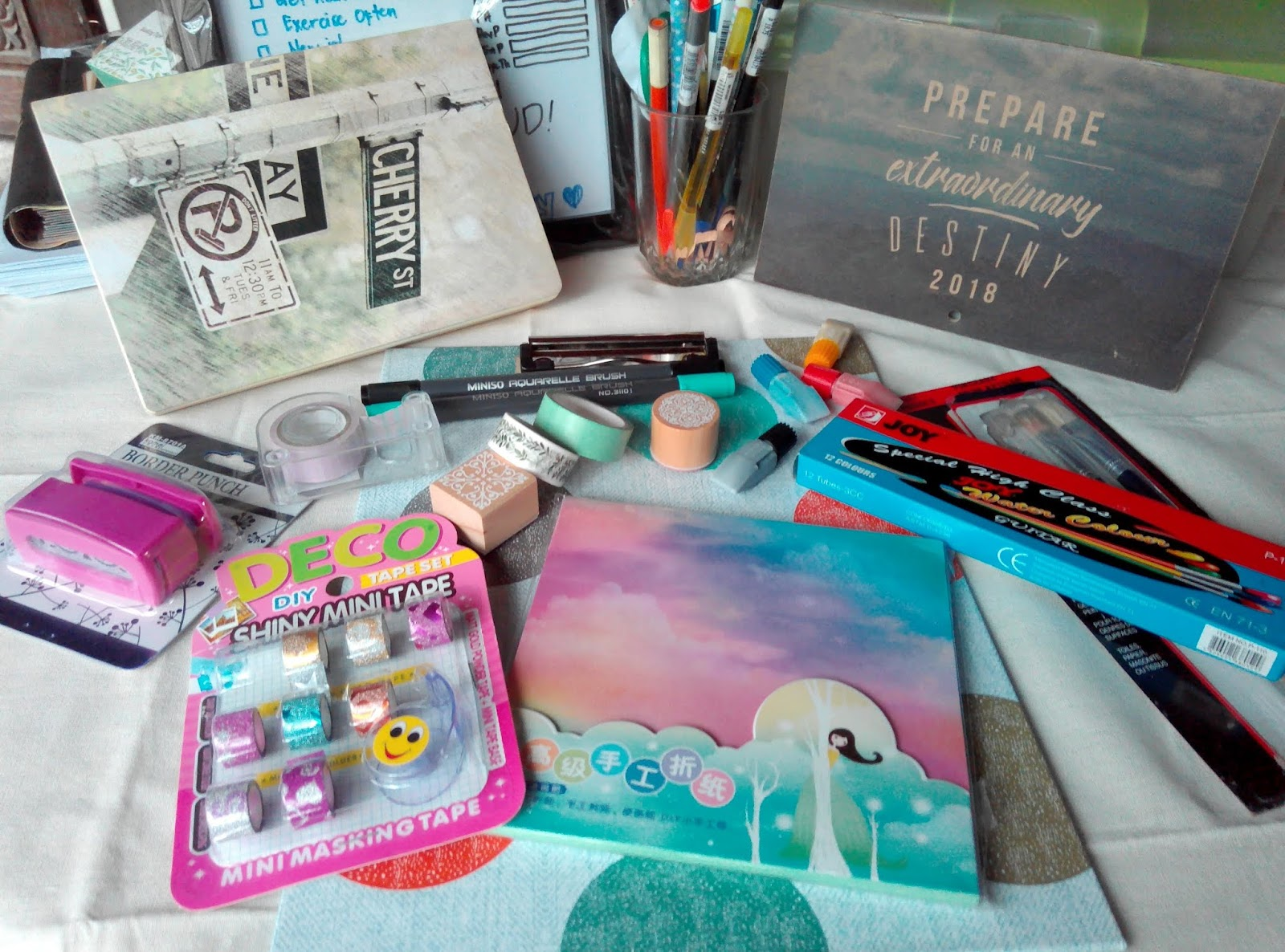 Art Supplies Haul (Local stores in the Philippines) - A Blog about