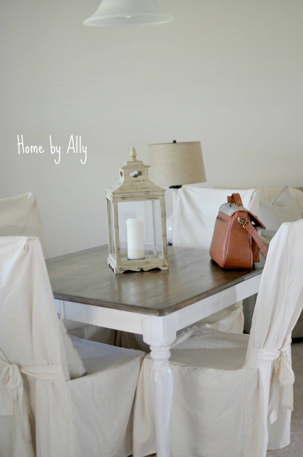 hey yall so redo kitchen table Home by Ally