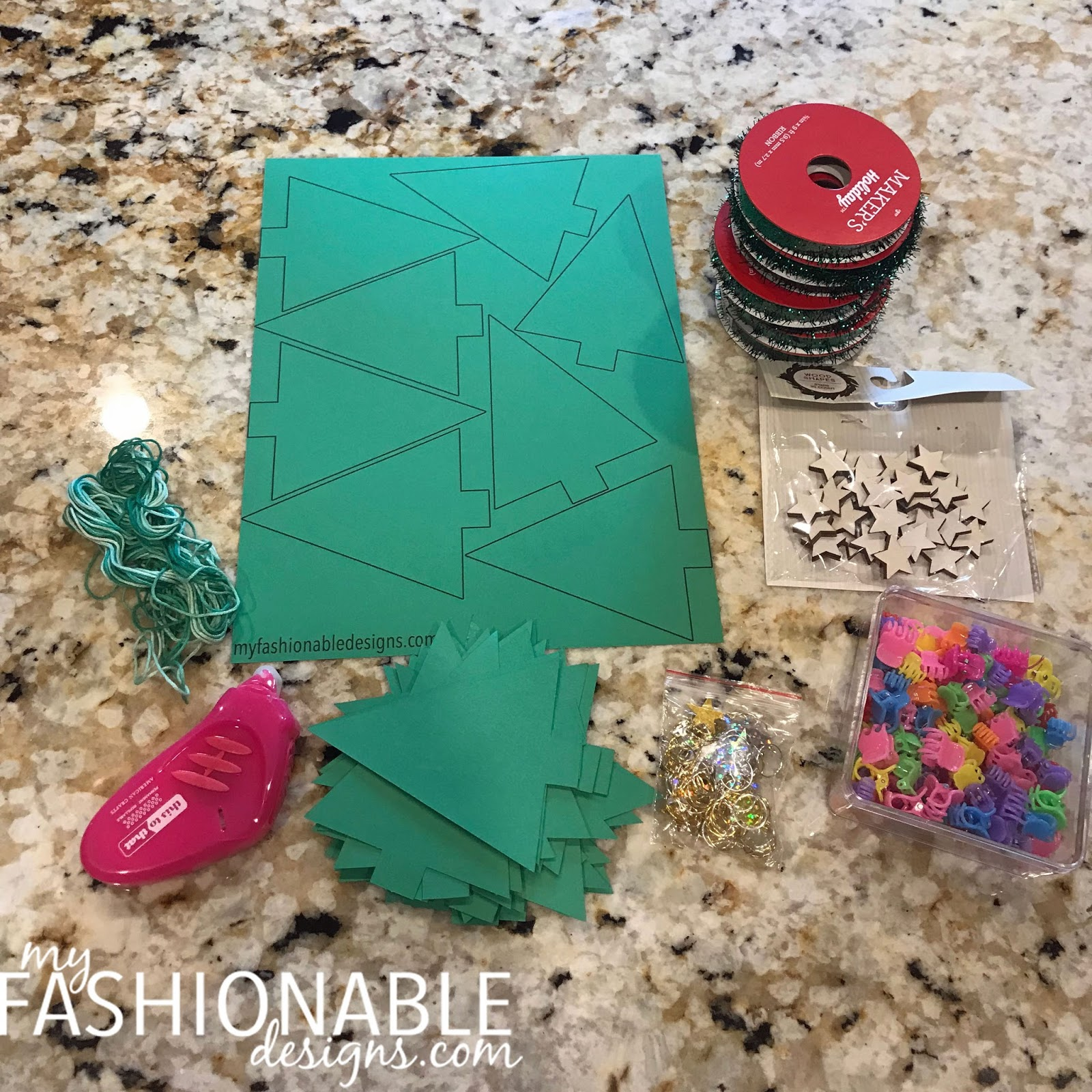 My Fashionable Designs Holiday Class Party Craft Idea