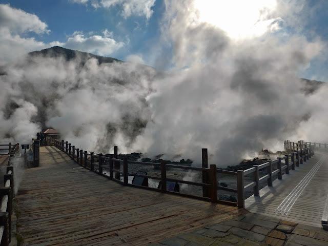 【長崎観光】雲仙地獄で地獄めぐり体験しました!