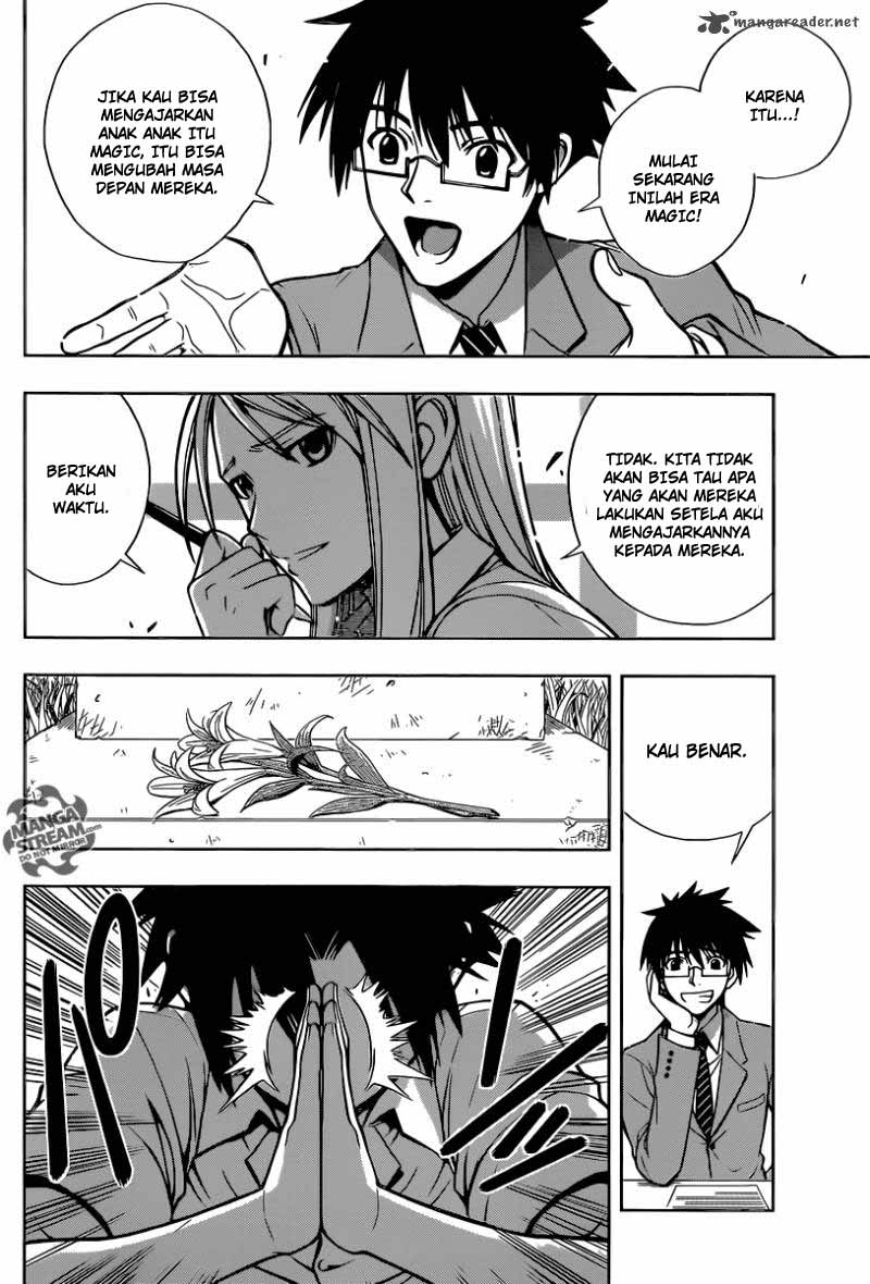 Manga UQ Holder Chapter 1 Bahasa Indonesia