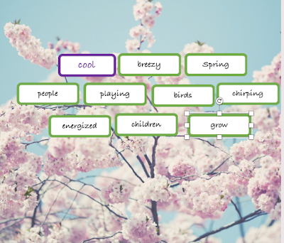 Spring Magnetic Poetry
