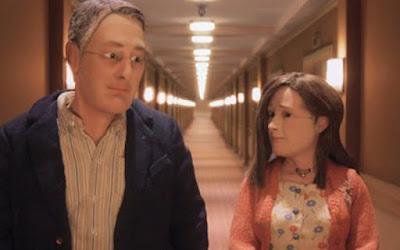 Michael et Lisa dans Anomalisa, de Charlie Kaufman (2016)