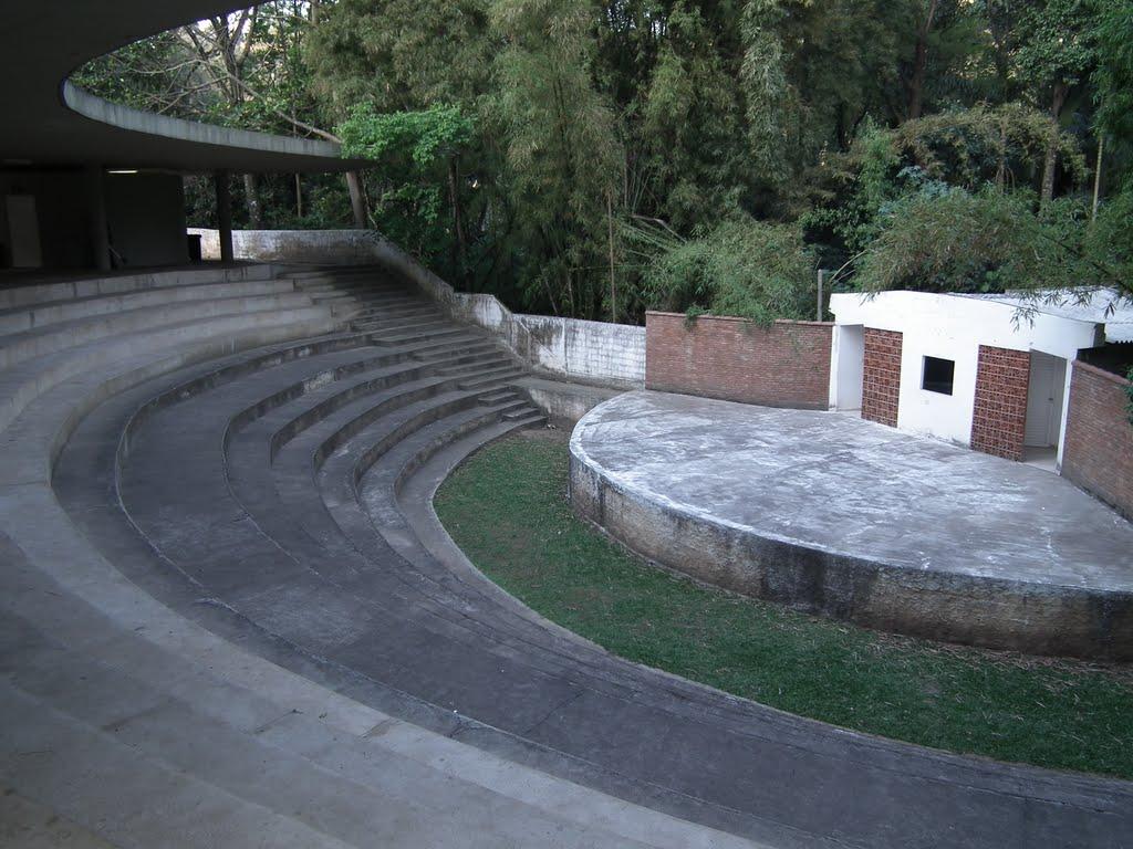Anfiteatro do PEJ, também chamado de Concha Acústica. Foto: João Batista Shimoto