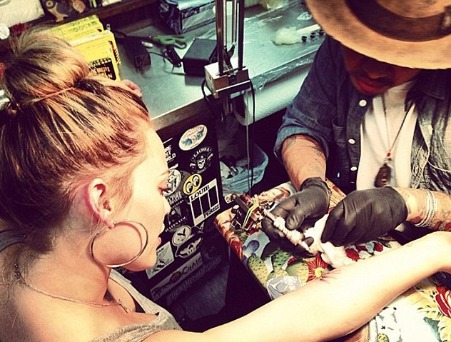 Hilary Duff News and Pictures: Hilary Duff Tattoos
