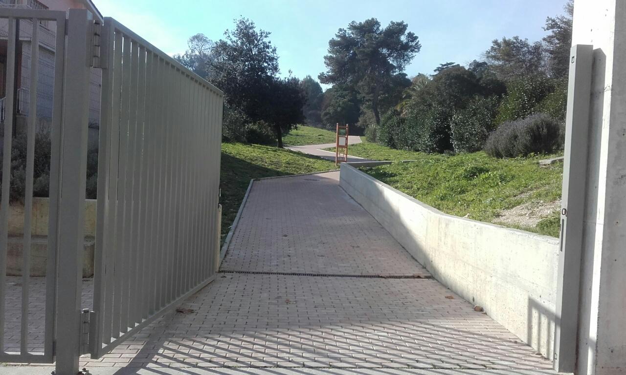 Entrada do Parque bemsaude