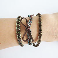 http://www.ohohdeco.com/2015/08/diy-leather-rings-bracelet.html