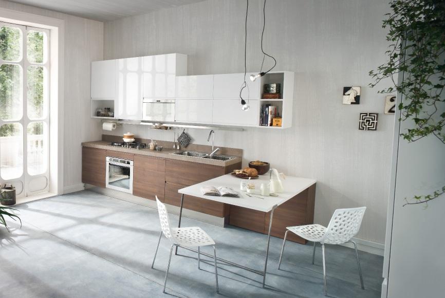 30 ideas de mesas y barras para comer en la cocina  Cocinas con estilo