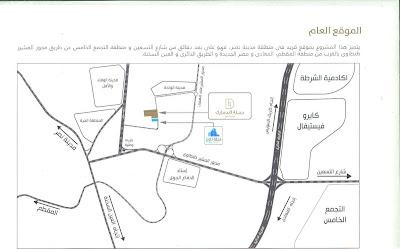 خريطة كمبوند دجلة تاورز