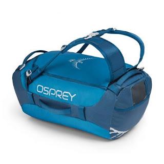 Osprey Transporter 40 Kingfisher Blue Un Duffel bag polyvalent léger et confortable