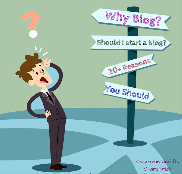 In this post, I will point out some of the main reasons why you should start your own blog. I hope that the list below will encourage you enough to take an action.